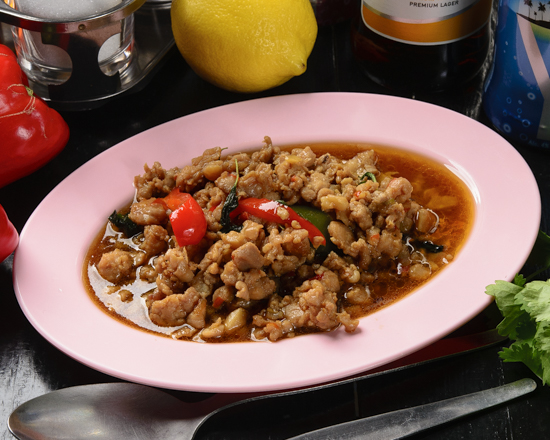 ガパオ・ガイ/鶏ミンチのガパオ甘辛炒め(ごはん無し)